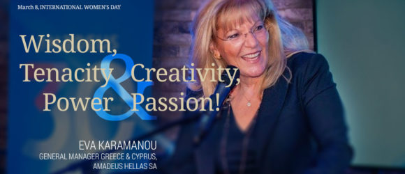 EVA KARAMANOU, General Manager Greece & Cyprus, Amadeus Hellas SA