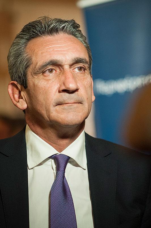 George Hatzimarkos, Governor of South Aegean Region