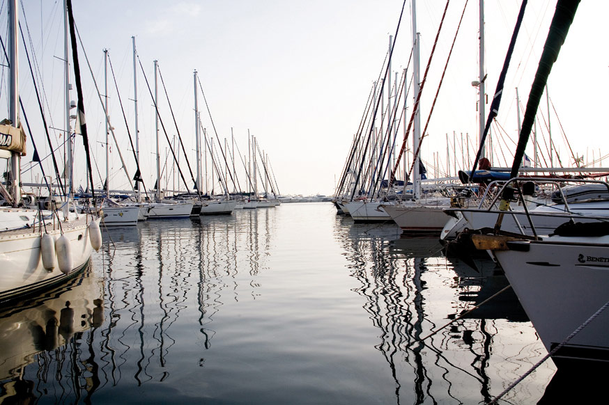 Alimos Marina. Photo Source: Greek Marinas Association