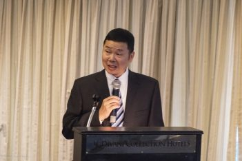 Hangzhou Tourism Commission Deputy Director Wang Xinzhang.