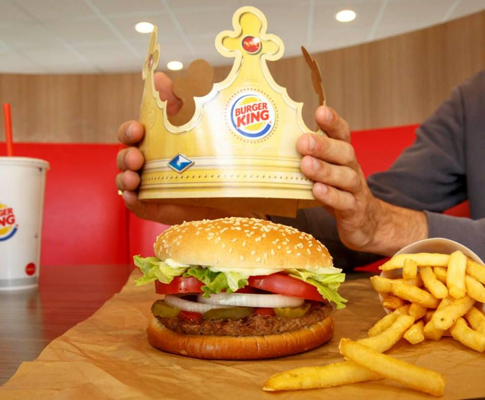 Photo source: Burger King