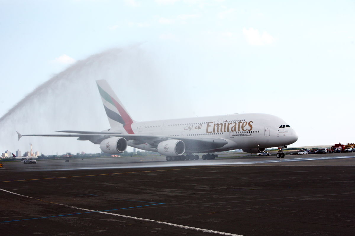 The first Emirates A380 flight was on 1 August 2008, to New York from Dubai. In the last decade, Emirates has grown its A380 network to 49 destinations.