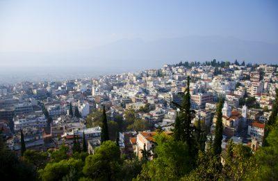 The city of Lamia. Photo Source: Municipality of Lamia