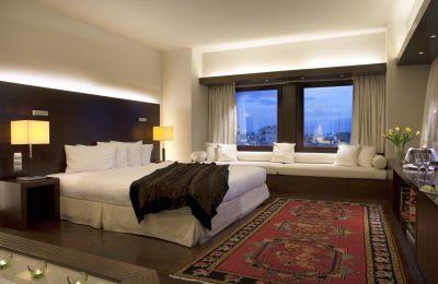 the Lazart Hotel in Thessaloniki. Photo © Lazart Hotel