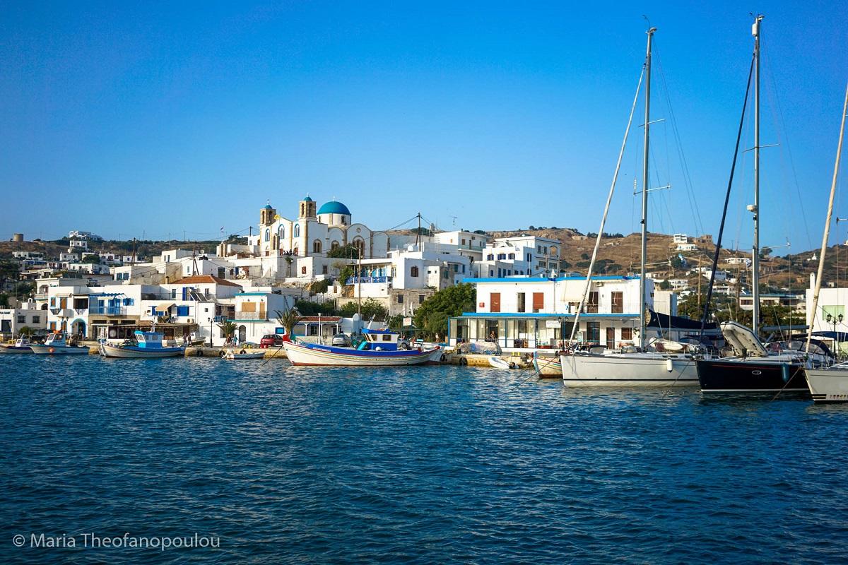 Lipsi port. Photo: Maria Theofanopoulou