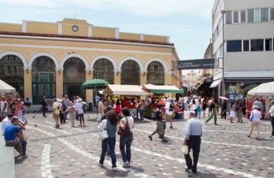 Monastiraki market, Athens. Photo Source: ESEE