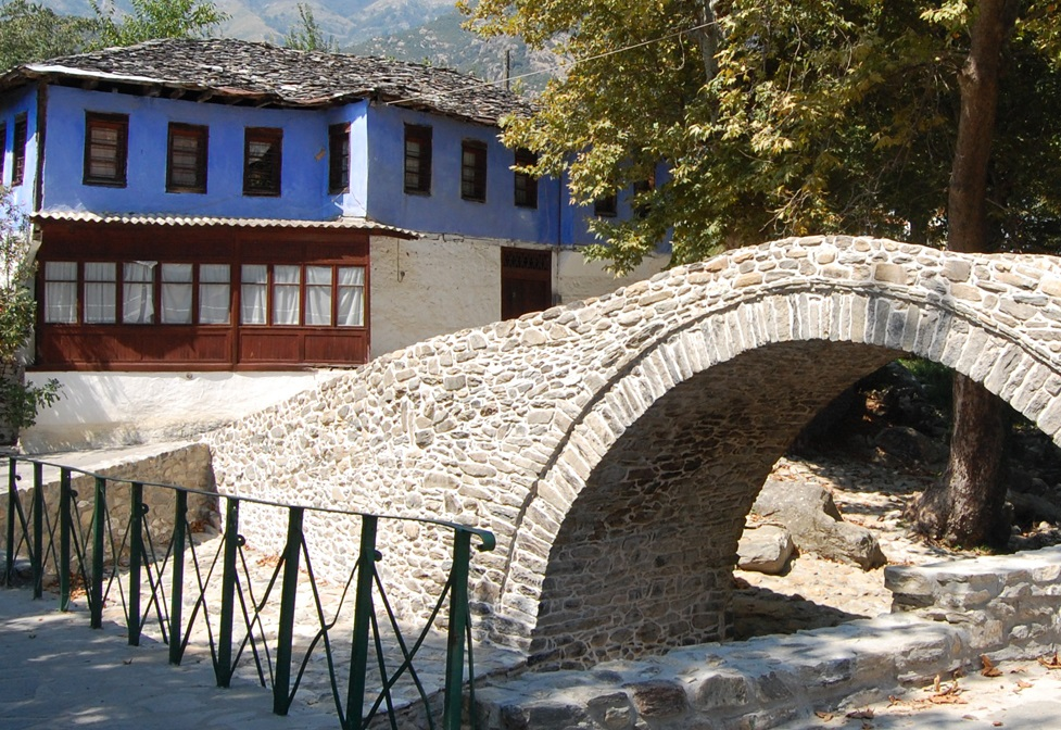The Bridge of Mousthenis, Paggaio. Photo Source: Municipality of Paggaio