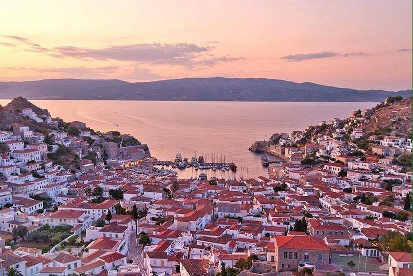 Hydra island. Photo Source: @Municipality of Hydra