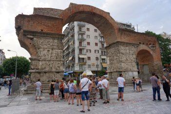 Thessaloniki's Rotonda monument.