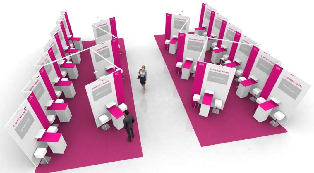 Impression of the new WTM Agency Pavillion