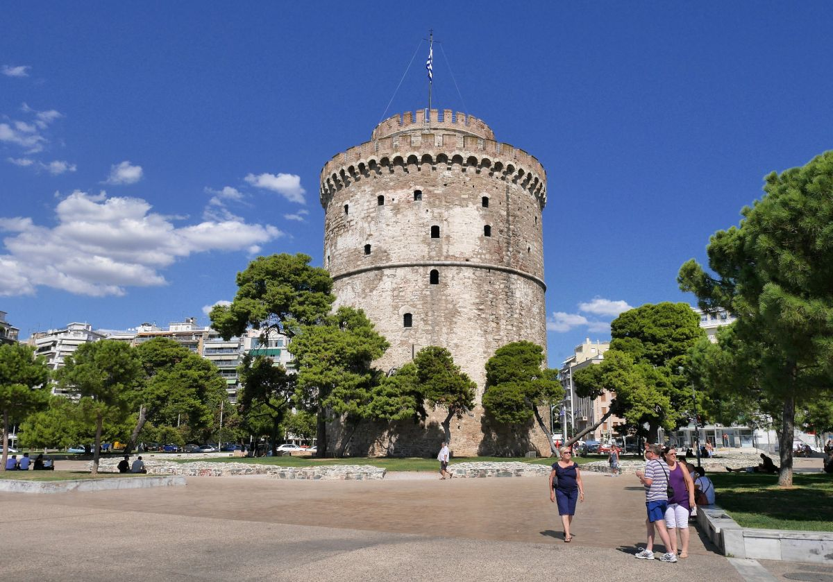 Thessaloniki's White Tower. Photo source: Pixabay