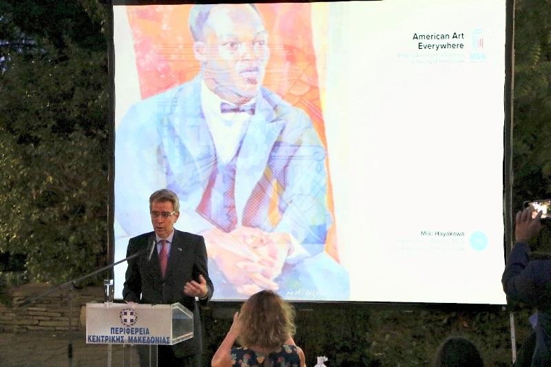 US Ambassador to Greece Geoffrey Pyatt