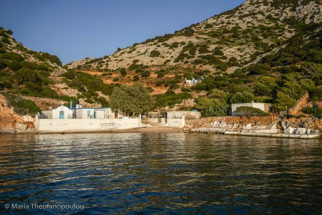 Ai Nikolaki, Thymena, Fournoi Island. Photo: Maria Theofanopoulou