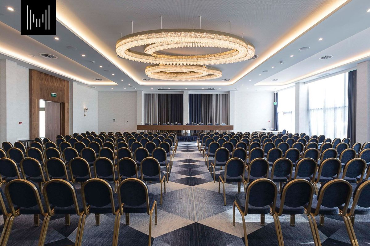 Makedonia Palace conference room.