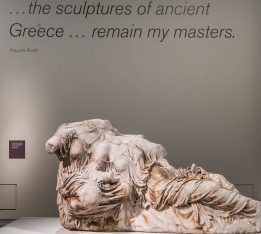 The Parthenon Marbles. Photo Source: @British Museum