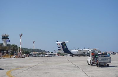Rhodes airport. Photo: GTP