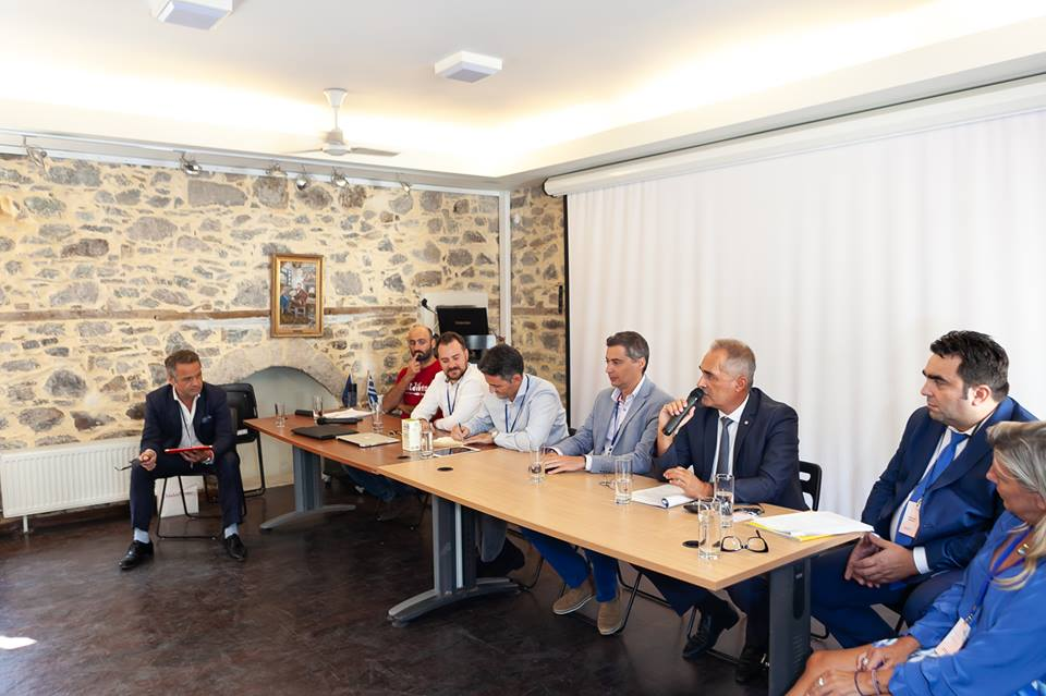 Panel discussion at the 1st Samothraki Open Forum.