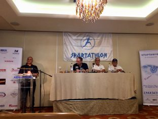 The 36th Spartathlon was presented during a press conference on Tuesday.