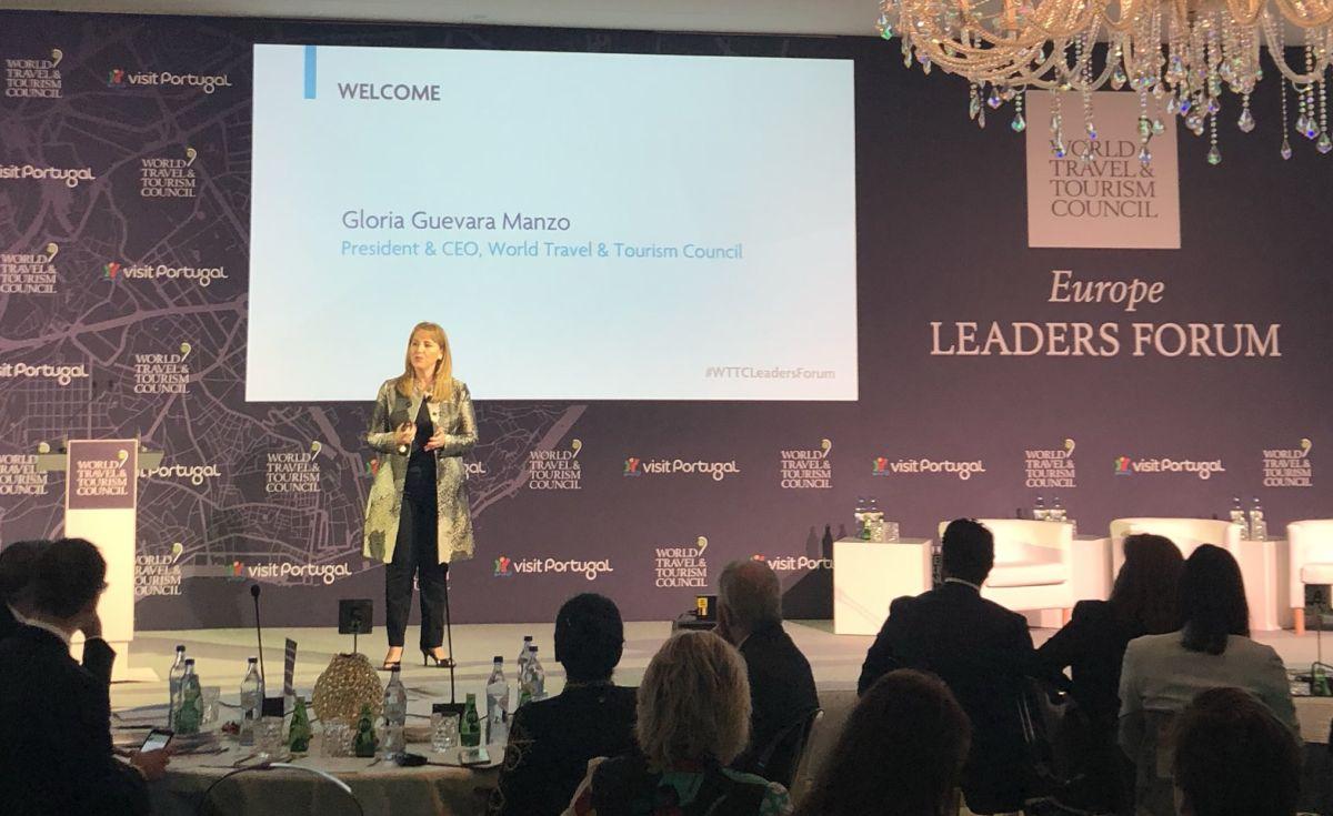 WTTC President & CEO Gloria Guevara.