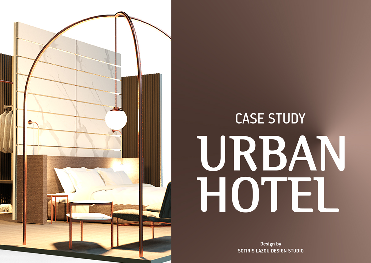 Urban Hotel Inspiration / design by Sotiris Lazou Design Studio