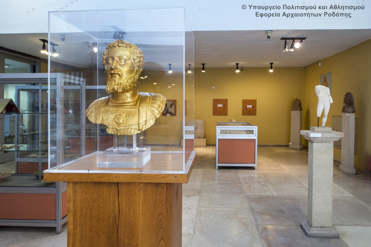 Archaeological Museum of Komotini. Photo © Greek Culture Ministry