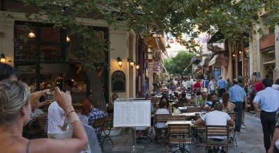 Plaka, Athens. Photo Source: Visit Greece / Y Skoulas