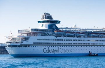 Celestyal Olympia. Photo Source: @Celestyal Cruises