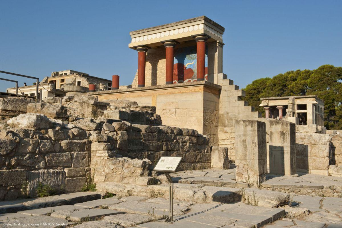 Crete, Heraklion, Knossos. Photo © GNTO/Y.Skoulas