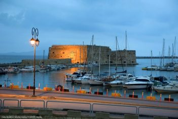 Crete, Heraklion, Venetian Harbor. Photo © GNTO/Y.Skoulas