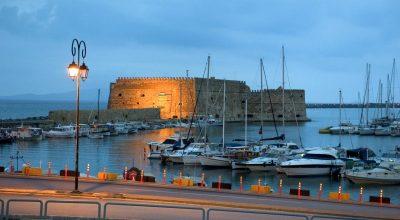 Crete, Heraklion, Venetian Harbor. Photo © GNTO/Y.Skoulas
