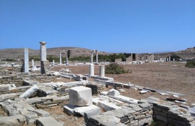The archaeological site of Delos source: press release