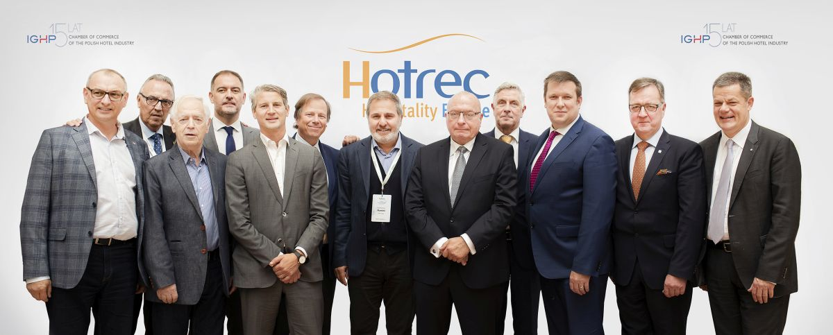 The new HOTREC Executive Committee is now composed of President Jens Zimmer Christensen (Denmark), Vice-President Marc Van Muylders (Belgium), Treasurer Adrian Cummins (Ireland), Julian Bystrzanowski (Poland), Ramón Estalella (Spain); Antonio Flamini (Italy); Samuel Lacombe (France); Markus Luthe (Germany); Václav Starek (Czech Republic), Morten Thorvaldsen (Norway) and Alexandros Vassilikos (Greece).