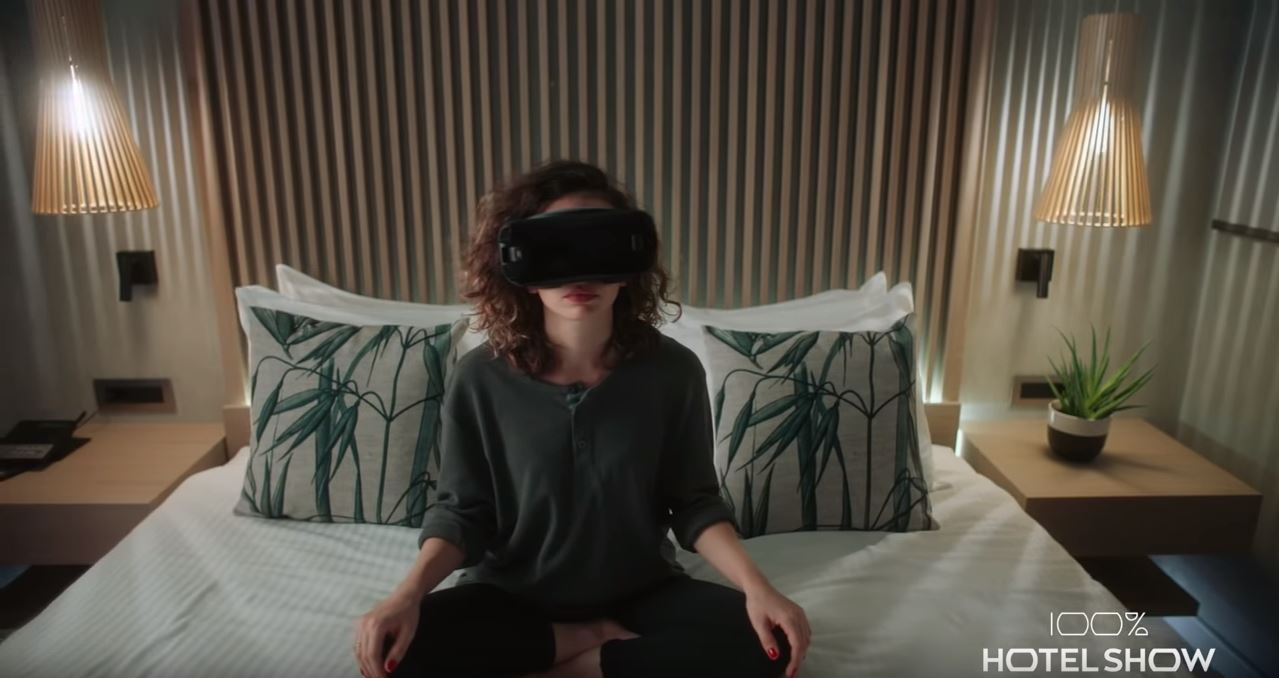 100% Hotel Show 2018 virtual reality