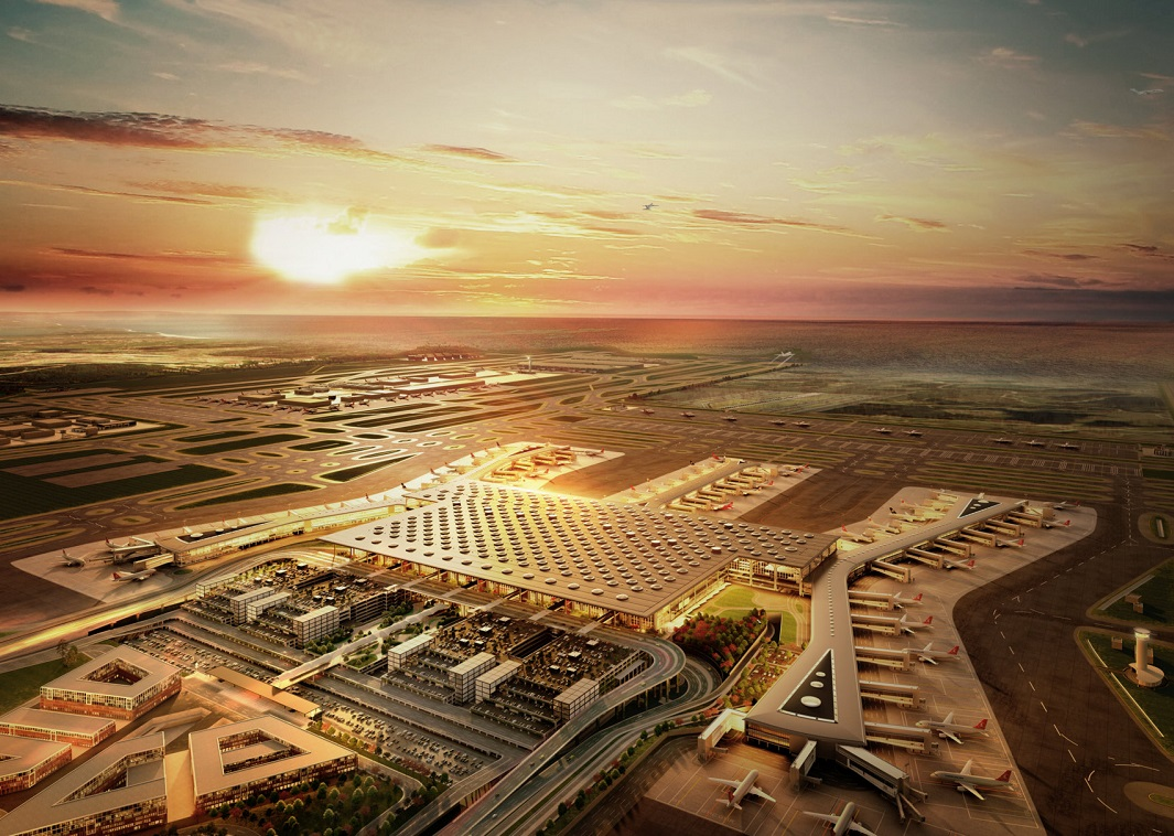 The Istanbul New Airport. Photo Source: İGA