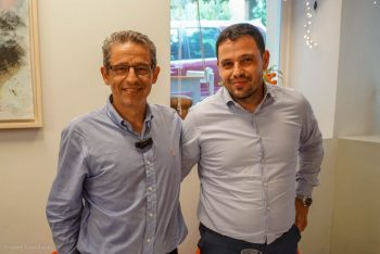 Metaxas Group of Companies CEO Andreas Metaxas with partner, Yiannis Metaxas.