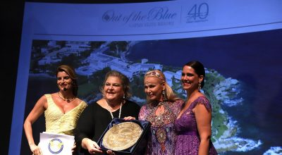 "The Out of the Blue Capsis Elite resort won the Signum Virtutis seal of excellence as the ""Seven Star Best Hotel & Resort in Greece""."