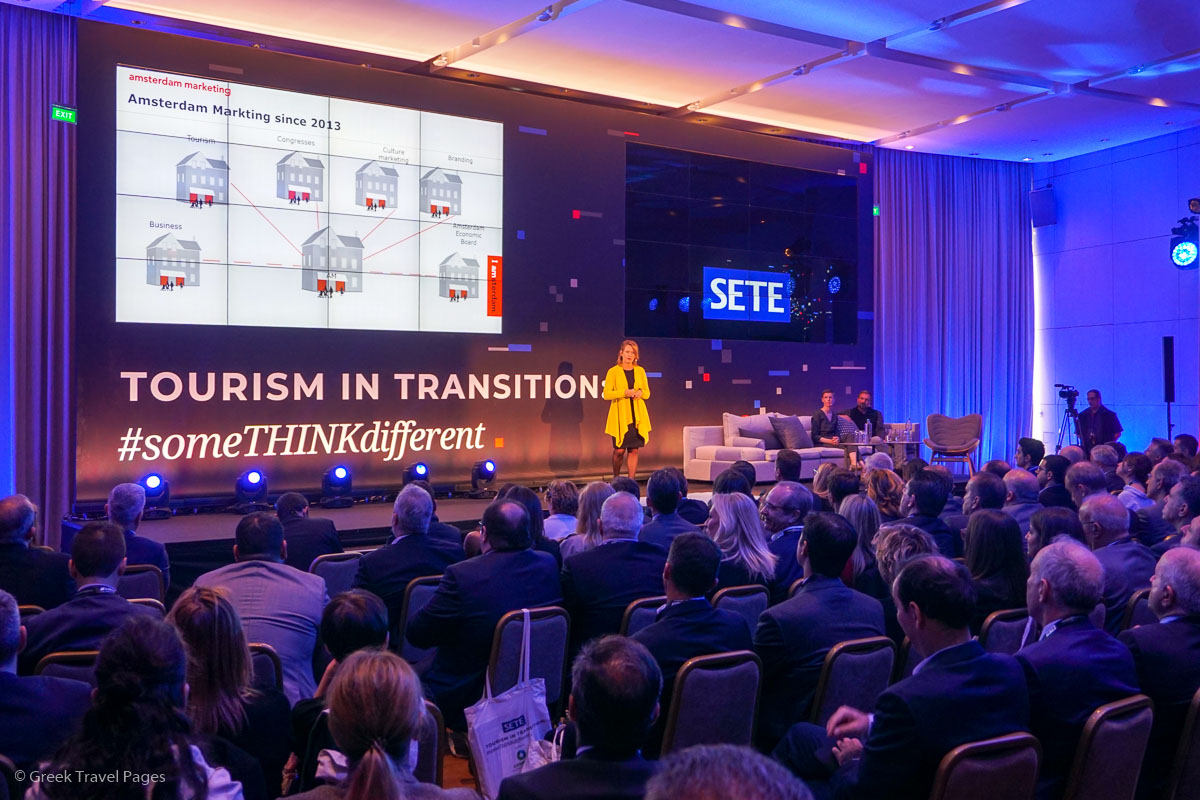 """""""Lessons from Amsterdam"""" - Keynote by Geerte Udo, Associate Director Marketing strategy - Amsterdam Partners."""