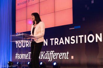 Greek Tourism Minister Elena Kountoura