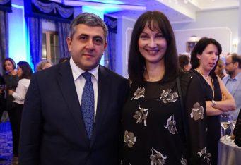 UNWTO Secretary General Zurab Pololikashvili with Greek Tourism Minister Elena Kountoura. Photo © GTP