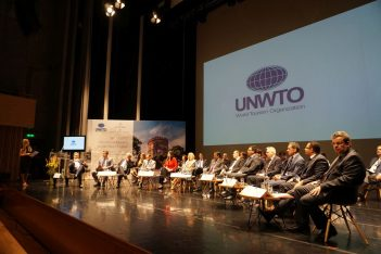 Tourism ministers from all over the world attended the UNWTO's Silk Road Ministerial Roundtable session. Photo © GTP