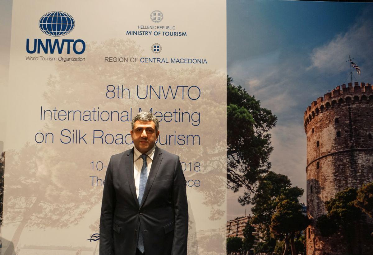 UNWTO Secretary General Zurab Pololikashvili. Photo © GTP