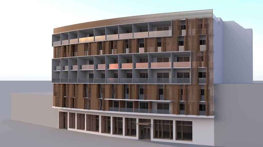 Wyndham Nicosia, exterior.