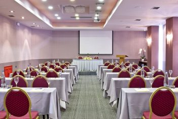 Akali Hotel, conference room.