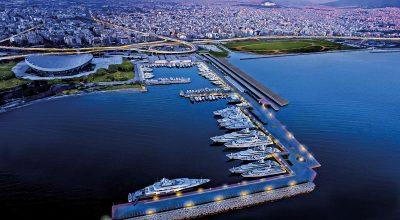 The Athens marina. Photo Source: https://iwmc2018athens.com