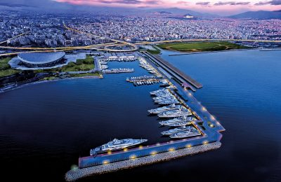 The Athens marina. Photo Source: https://iwmc2018athens.com