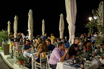 A feast took place on Chios during Navigator – The Shipping Decision Makers Weekend.