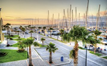 The Kos marina. Photo Source: https://iwmc2018athens.com