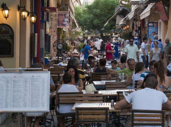 Plaka district in Athens. Photo source: VisitGreece/YSkoulas