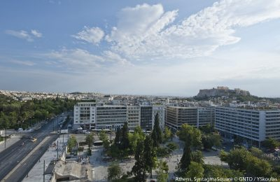 Syntagma Square, Athens. Photo © GNTO/Y Skoulas
