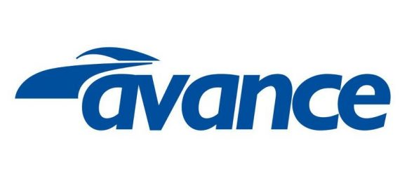 The new logo of Avance Rent a Car.